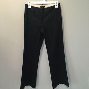 Kenneth Cole Kayla Petite 2 ribbed black pants